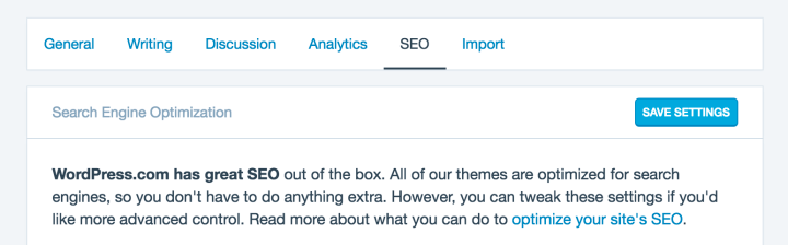 Make the Most of Our New SEO Settings Panel