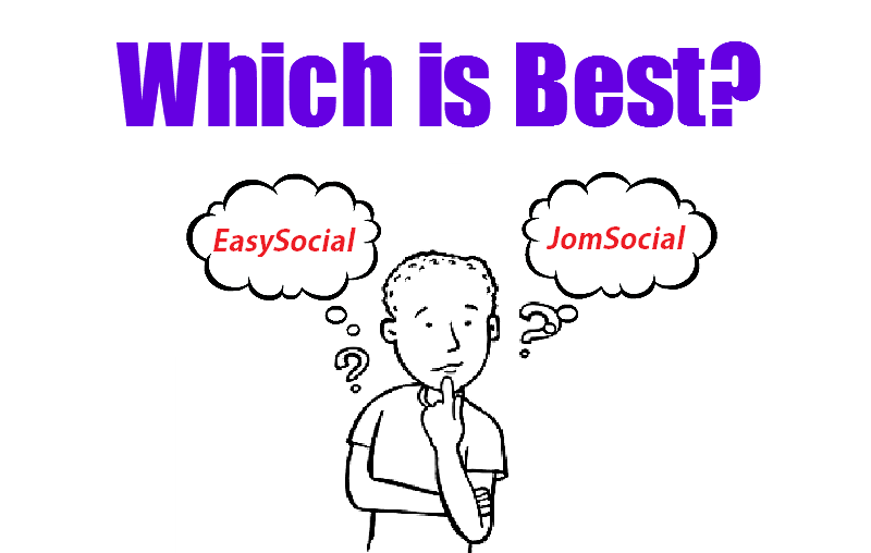 JomSocial Vs EasySocial – Which one is better?