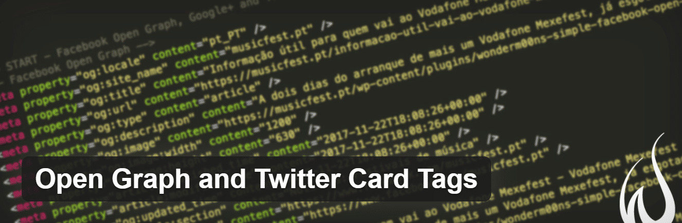 Open Graph and Twitter Card Tags plugin