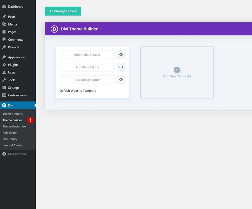 Category Page Template for Divi's Marina Layout Pack