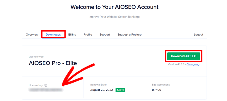 aioseo-licence-key-download